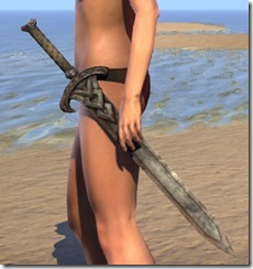 Draugr Iron Sword