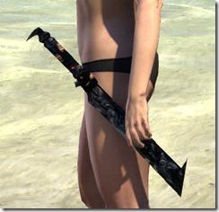 Dreadhorn Iron Dagger