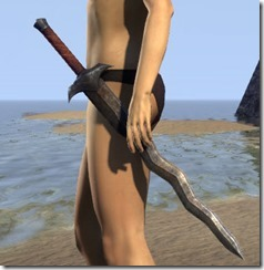Dunmer Steel Sword