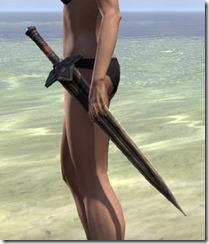 Dwemer Dwarven Sword