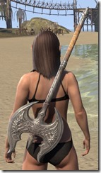 Ebonheart Pact Iron Battle Axe