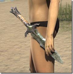Glass Iron Dagger