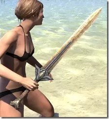 High Elf Dwarven Sword 2