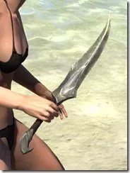 High Elf Orichalc Dagger 2