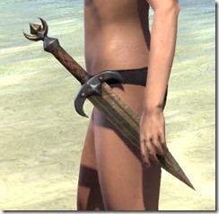 Khajiit Dwarven Dagger