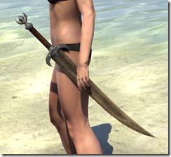 Khajiit Dwarven Sword