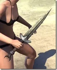Khajiit Orichalc Dagger 2