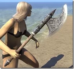 Malacath Iron Axe 2