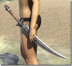 Malacath Iron Sword