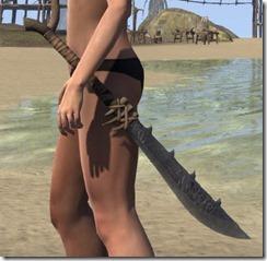 Mazattun Iron Sword