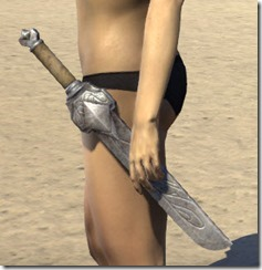 Mercenary Iron Dagger