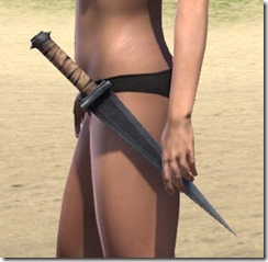 Minotaur Iron Dagger