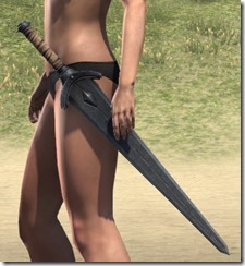 Minotaur Iron Sword