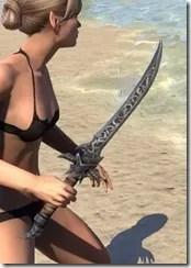 Dremora Iron Dagger 2'