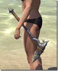 Elder Argonian Iron Axe 1