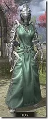 Apostle Homespun - Khajiit Female Robe Front
