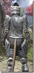 Apostle Iron - Khajiit Female Close Rear