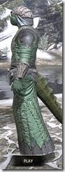 Ashlander Homespun - Argonian Male Robe Side