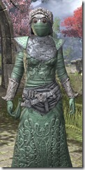 Ashlander Homespun - Khajiit Female Robe Close Front