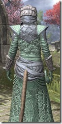 Ashlander Homespun - Khajiit Female Robe Close Rear