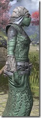Ashlander Homespun - Khajiit Female Robe Close Side