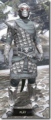 Ashlander Rawhide - Argonian Male Front