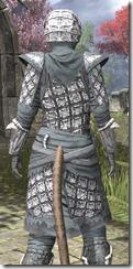 Ashlander Rawhide - Khajiit Female Close Rear