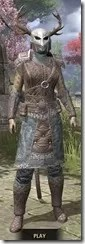Bloodforge Rawhide - Khajiit Female Front