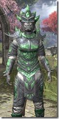 Buoyant Armiger Iron - Khajiit Female Close Front