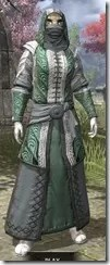 Abah's Watch Homespun - Khajiit Female Robe Front