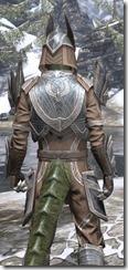 Aldmeri Dominion Homespun - Argonian Male Shirt Close Rear