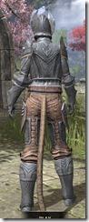 Aldmeri Dominion Iron - Khajiit Female Rear
