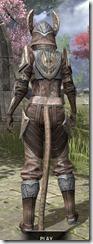 Aldmeri Dominion Rawhide - Khajiit Female Rear