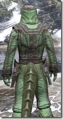 Ancient Elf Homespun - Argonian Male Shirt Close Rear