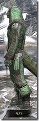 Ancient Elf Homespun - Argonian Male Shirt Side