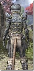 Ancient Elf Iron - Khajiit Female Close Rear