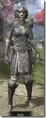 Ancient Elf Iron - Khajiit Female Front