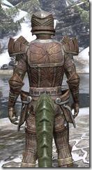 Ancient Elf Rawhide - Argonian Male Close Rear