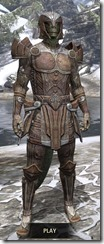 Ancient Elf Rawhide - Argonian Male Front