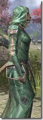 Ancient Orc Homespun - Khajiit Female Robe Close Side