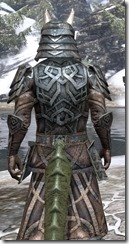 Ancient Orc Iron - Argonian Male Close Rear