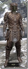 Ancient Orc Rawhide - Argonian Male Front