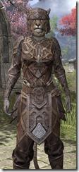 Ancient Orc Rawhide - Khajiit Female Close Front