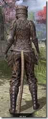 Ancient Orc Rawhide - Khajiit Female Rear