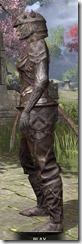 Ancient Orc Rawhide - Khajiit Female Side