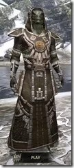 Argonian Cotton - Argonian Male Robe Front