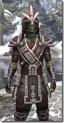 Argonian Full-Leather - Argonian Male Close Front
