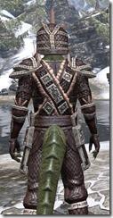 Argonian Full-Leather - Argonian Male Close Rear