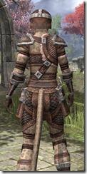 Argonian Hide - Khajiit Female Close Rear