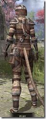 Argonian Hide - Khajiit Female Rear